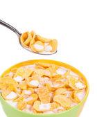 Corn flakes. — Stock Photo