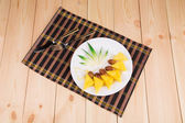 Pineapple and dates — Stock Photo