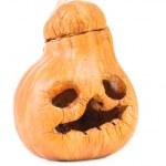 Old halloween pumpkin. — Stock Photo