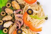 Délicieuses pâtes italiennes — Photo