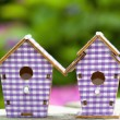Birdhouse close up — Stock Photo