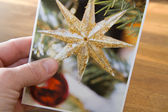クリスマスのグリーティング カード — ストック写真