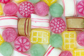 Traditional dutch candy frame filling — Stock Photo