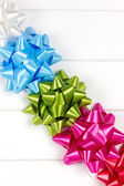 Five gift bows — Stock Photo
