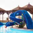 Stock Photo: Children's slide in waterpark
