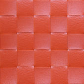 Red Placemat, texture — Stock Photo
