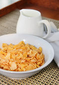 Healthy Breakfast-Cornflake — Stock Photo