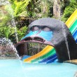 Water park slides. — Stock Photo #36056859