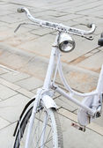 Old-fashioned bicycle — Foto de Stock