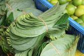Folha de betel no mercado — Fotografia Stock