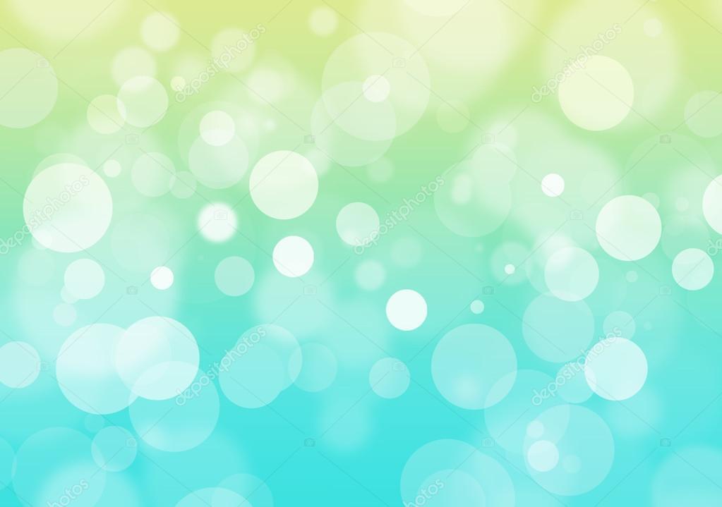 Боке фон зеленый