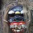 Stock Photo: Wooden figure face. Old traditional mask