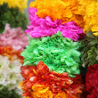 Stock Photo: Inditraditional culture colorful garland
