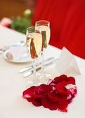 Valentine's Day dinner — Stockfoto