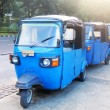Stock Photo: Bajaj is unique public transportation
