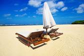 Nádherná pláž bez lidí — Stock fotografie
