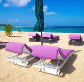 Insanlar olmadan güzel bir plaj — Stok fotoğraf