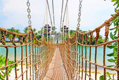 Bridge on Sentosa Island — 图库照片