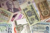 Na całym świecie waluty — Zdjęcie stockowe