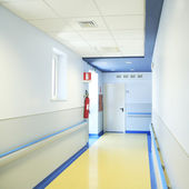 Hospital Hallway — Stock Photo