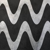 Wall Wavy Lines — Stock Photo