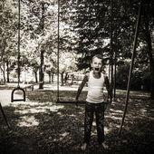 Vampire Child — Stock Photo