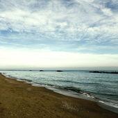 Italian beach scene — Foto Stock