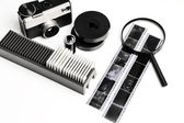 Vintage tools for film photography — Stock fotografie