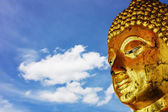 Buddha's face — Stock Photo