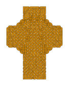 Gold Celtic Cross — Stock Photo