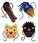 Animal Masks — Stock Photo