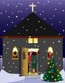 Christmas Eve — Stock Photo
