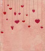 Corazón vintage — Foto de Stock
