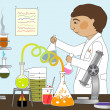 In the Lab — Stock Photo