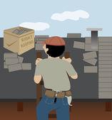 The Roofer — Foto de Stock