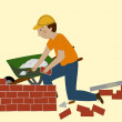 The Bricklayer — Stock Photo #41769415