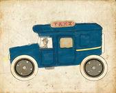 Vintage Taxi — Stock Photo