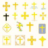 Kreuze — Stockvektor