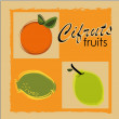 Stock Vector: Cifruts