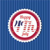 4th July — Stock Vector