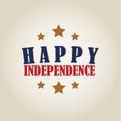 Feliz independencia — Vector de stock