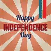 Feliz día de la independencia — Vector de stock