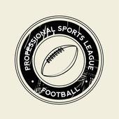 Football symbol — Stock Vector