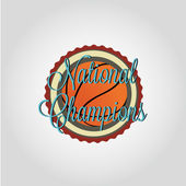 Basketball champions — Stock Vector