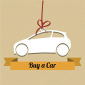 Buy a car — Stock Vector