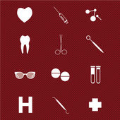 Medical icons — Wektor stockowy
