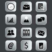 Business icons — Cтоковый вектор