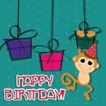 Happy birthday — Stock Vector #27906917