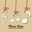 Music notes — Stock Vector #27907255