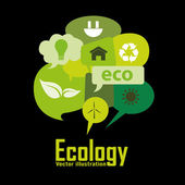 Ecology — Stock Vector
